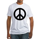 Peace / CND Fitted T-Shirt