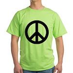 Peace / CND Green T-Shirt