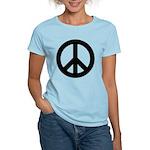 Peace / CND Women's Pink T-Shirt