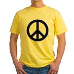 Peace / CND Yellow T-Shirt