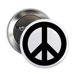 """Peace / CND 2.25"""" Button (100 pack)"""