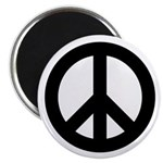 """Peace / CND 2.25"""" Magnet (10 pack)"""