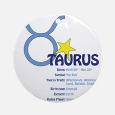 Taurusdetail Round Ornament