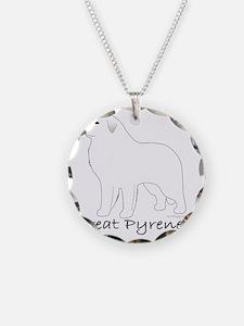 GreatPyreneesText Necklace