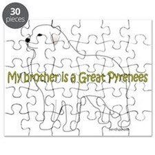 GreatPyrenees_Brother Puzzle