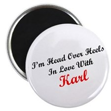 """In Love with Karl 2.25"""" Magnet (100 pack)"""