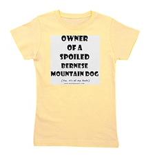 OWNSPOIL_BERNESE_MTN_DOG Girl's Tee