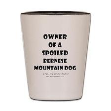 OWNSPOIL_BERNESE_MTN_DOG Shot Glass