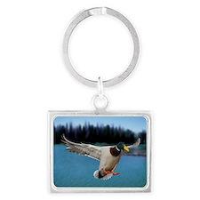Mallard Duck Landscape Keychain
