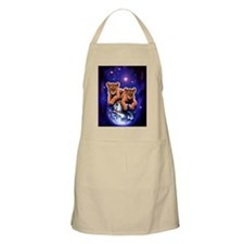 Lion Cubs on Earth Apron