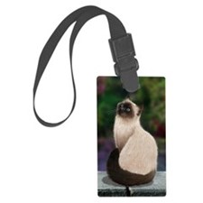 Siamese Cat Luggage Tag
