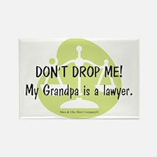 lawyer-grandpa Rectangle Magnet