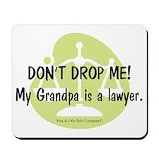 lawyer-grandpa Mousepad