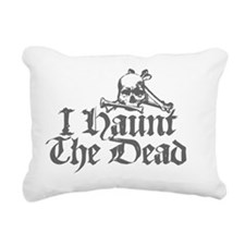 hauntthedeadsafe Rectangular Canvas Pillow