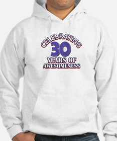 Awesome at 30 birthday designs Hoodie