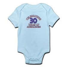 Awesome at 30 birthday designs Infant Bodysuit