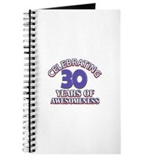Awesome at 30 birthday designs Journal