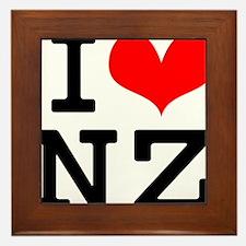 loveNZ Framed Tile