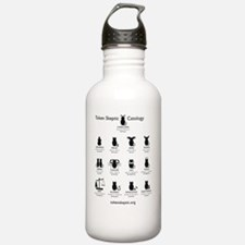 Token Skeptic Catology Water Bottle