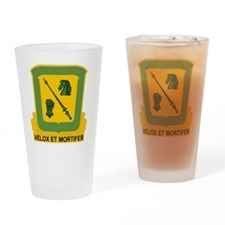 18th Cavalry Regiment Drinking Glass