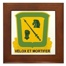 18th Cavalry Regiment Framed Tile