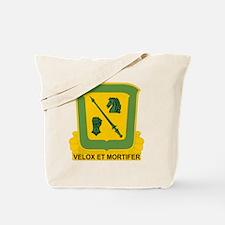 18th Cavalry Regiment Tote Bag