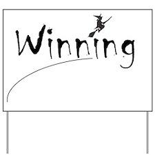 winning Yard Sign