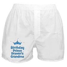 birthdayprince_1st_DRAVENsGRANDMA Boxer Shorts