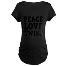 PeaceLoveTwins2 T-Shirt