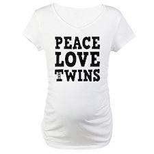 PeaceLoveTwins2 Shirt