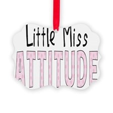littlemissattitude Ornament