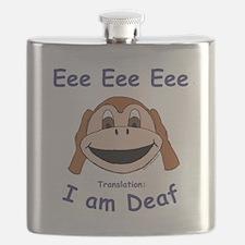 DEAF MONKEY Flask
