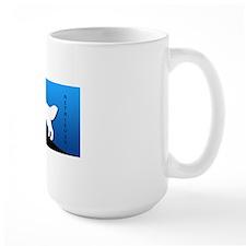 blueblack2 Ceramic Mugs