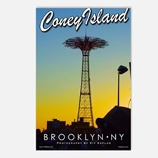 Poster-Coney-Parachute Postcards (Package of 8)