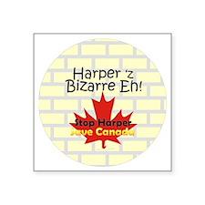 """Harpers Bizzare Square Sticker 3"""" x 3"""""""