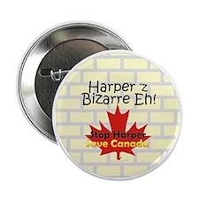 """Harpers Bizzare 2.25"""" Button"""