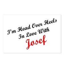 In Love with Josef Postcards (Package of 8)