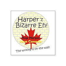 """Harpers Bizarre Square Sticker 3"""" x 3"""""""