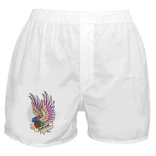 Autism-Puzzle-Wings-Tattoo Boxer Shorts