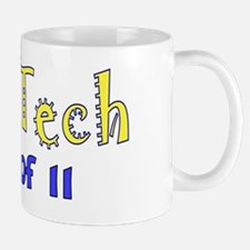Echo Tech class of 11 blue yellow Mug