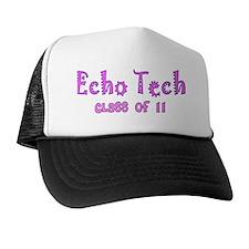 Echo tech class of 11 PINK Trucker Hat