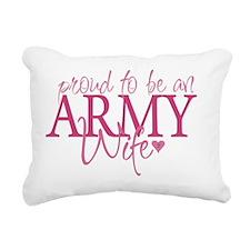 proudtobearmywife Rectangular Canvas Pillow