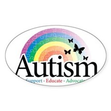 Autism-Rainbow-2 Decal