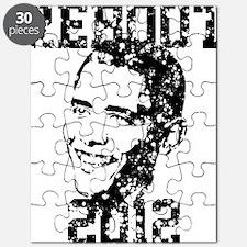 REBOOT 2012 Grunge Puzzle