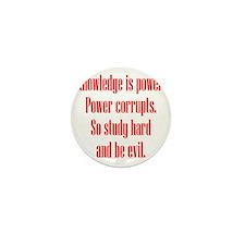 knowledge-power2 Mini Button