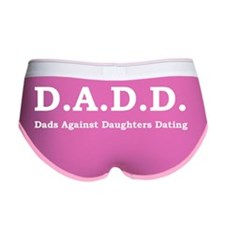 DADD White Women's Boy Brief
