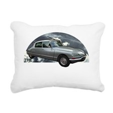 Mentalist.car Rectangular Canvas Pillow
