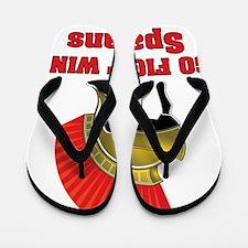 spartans Flip Flops