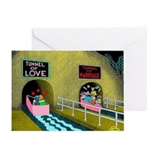 Tunnels Greeting Card