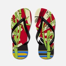 JAPAN_REBIRTH Flip Flops